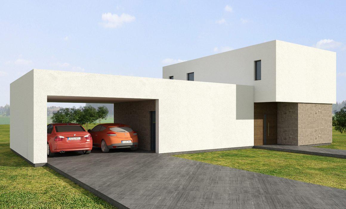 Diseño de casas en Pozuelo de Alarcón