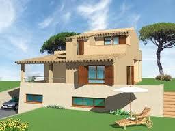 Estructura mixta de casa